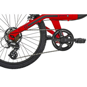 ORBEA Grow 2 7V - Vélo enfant - rouge/noir